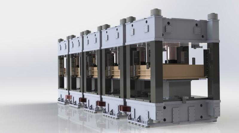 Progettazione di presse oleodinamiche