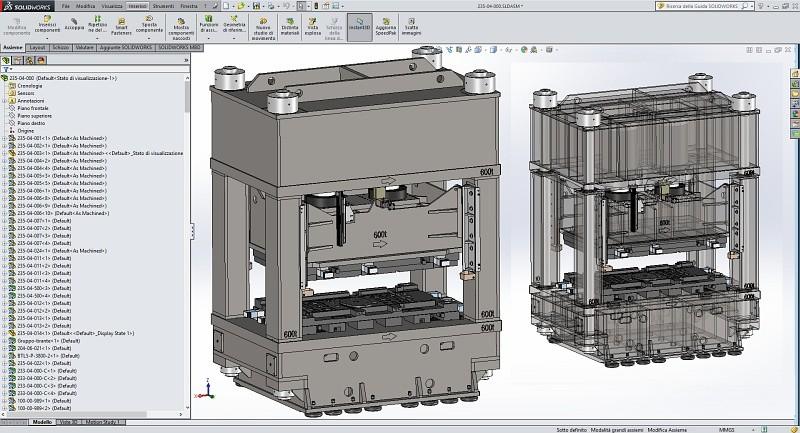 Progettazione di una pressa in ambiente CAD SolidWorks