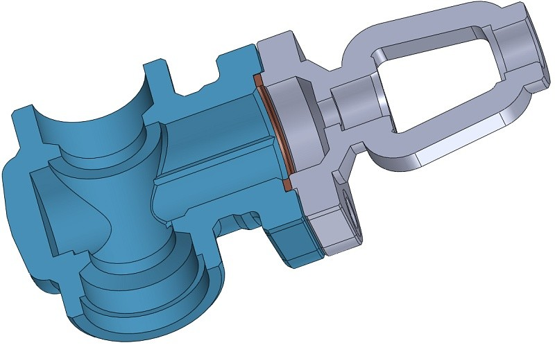 Tenuta guranizione valvola CAD