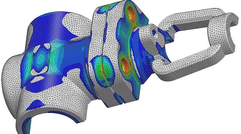 Simulazione strutturale valvola