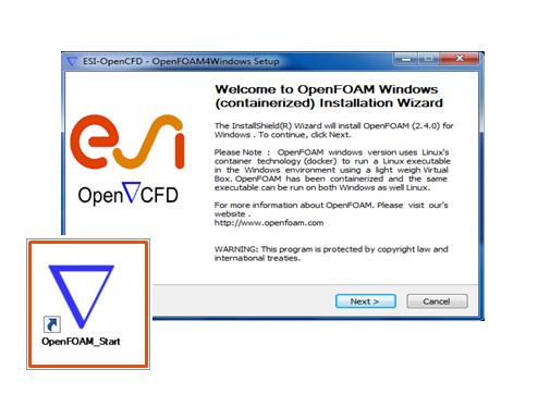 """OpenFOAM® """"quasi"""" per Windows rilasciato ufficialmente"""