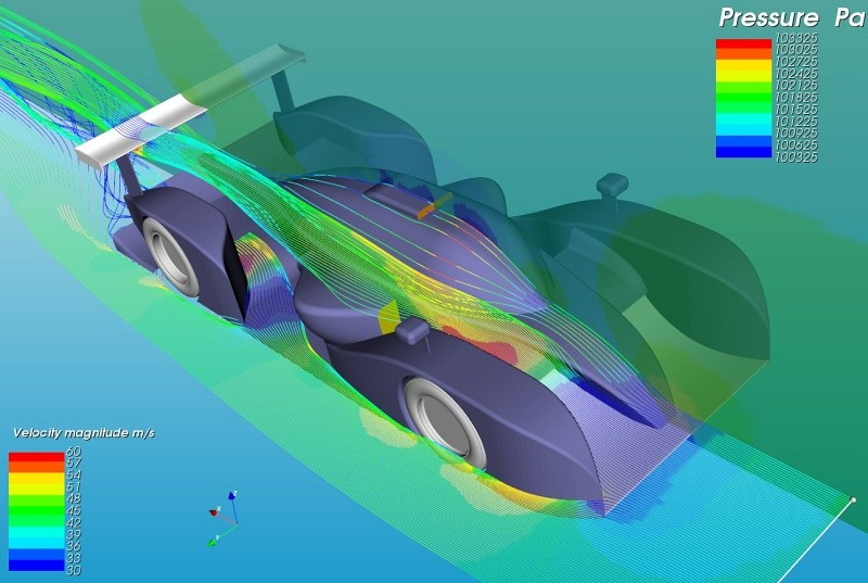Streamlines CFD