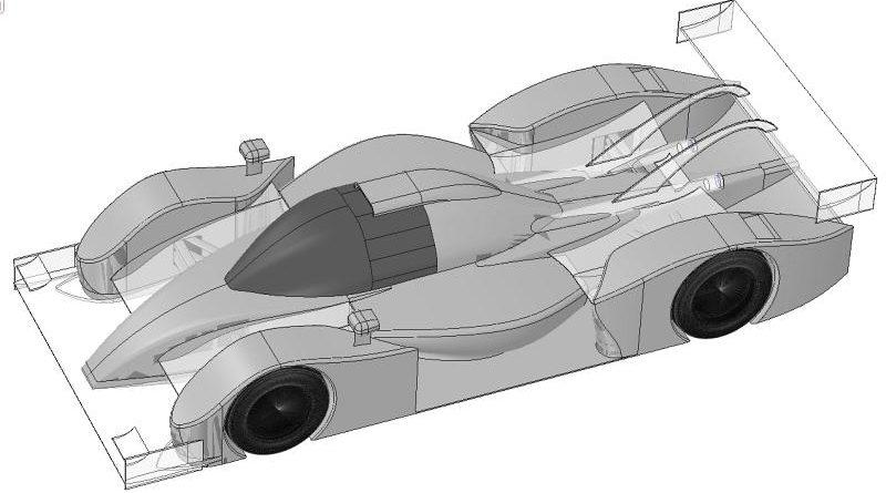LMP1 like car