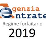 Forfetario 2019 e partecipazione in S.R.L.