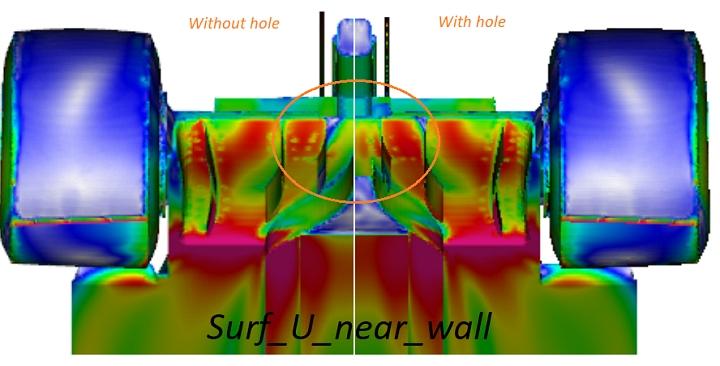 Diffuser hole
