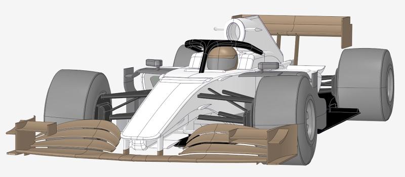 Formula car 2019